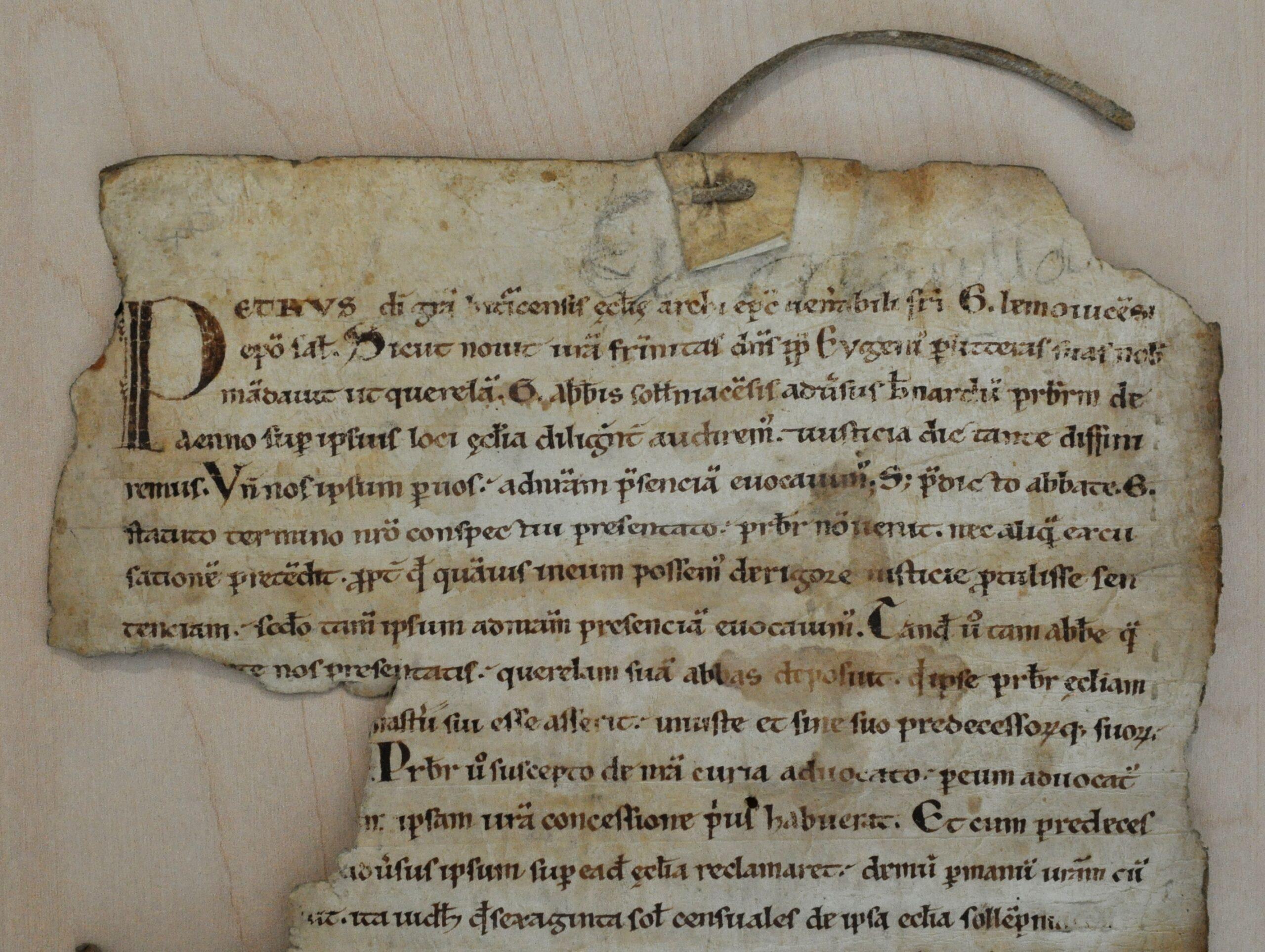 Limoges, AD Haute-Vienne, 6 H 142 (détail)